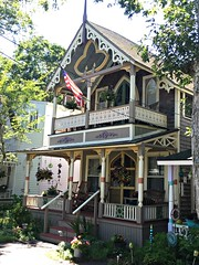 Gingerbread (djpalmer1953) Tags: cottages porches victorian oakbluffs massachusetts marthasvineyard residentialarchitecture