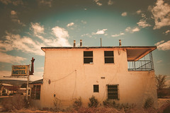 Wayside Motel (Talisman39) Tags: abandonment decay dereliction grants nm newmexico route66 vignette waysidemotel new mexico route 66 motel