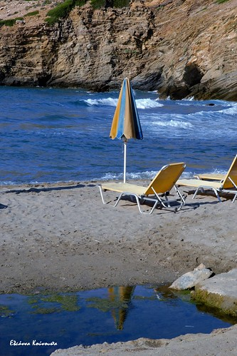 Almirida beach in Heraklion Crete