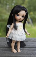 Corset for Pukifee (~Akara~) Tags: bjd abjd ball jointed doll fairyland fairy land fl pukifee puki fee pkf clothes clothing handmade etsy skirt tulle corset