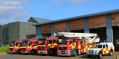 Durham Fire Station Line-up (Ben - NorthEast Photographer) Tags: durham fire station cddfrs volvo man ford ranger rescue darlington service d06 d06p1 d06p2 d06p3 d06a1 do6l1 kx13lgk kx13lgj nk09hdz wu62ozg nl09cvx pump lineup