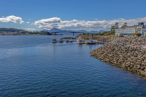 The Sky Bridge from Kyles of Lochalsh.