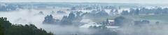 Wellesley farm country in morning fog (virgil martin) Tags: fog farms conestogariver wellesleytownship waterlooregion