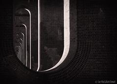 Curves, Light & Shadow (Sue MacCallum-Stewart) Tags: curves light shadows blackwhite balcombe viaduct ousevalley bricks structure