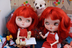 Blythe A Day 25 August 2017 - Sometimes you feel like a nut – sometimes you don't (omgdolls) Tags: blythedoll blythe clone icydoll chili ghibli gamusina pureneemobody diorama blytheaday august