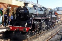 BR 4MT 2-6-0 No. 76084 (steamsnap) Tags: northnorfolkrailwayautumngala steamsnap poppyline 76084 steamtrains 260 standarddesign mogul