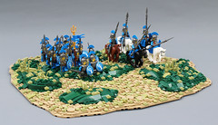 The Legion Returns Home. (Mark of Falworth) Tags: lego landscape terrain legion soldiers roman greek hoplites army