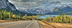 Highway 11 - View to the East (John Payzant) Tags: alberta canada north saskatchewan river hdr panorama abraham