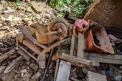 IMG_3849_50_51_52_53_54_tonemapped-Bearbeitet (Wolf Jan) Tags: lost verlassen abandoned vertrekken urbex urban puppen puppenfabrik fabrik doll fabrique