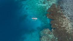 Spectacle (csabatokolyi) Tags: 2017 ariel arielphotography cebu drone mavic philippines sea coast rocks banca solitary shallows