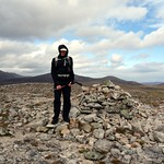 Me on the summit of Beinn Bhreac (931m), my 93rd Munro thumbnail
