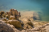 pierr' eau (harakis picture) Tags: ngc water rock long exposure france paca lac sony a7