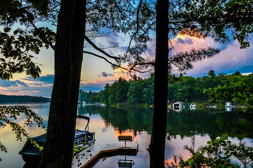 """Sunset from the cabin • <a style=""""font-size:0.8em;"""" href=""""http://www.flickr.com/photos/40260401@N08/36890379321/"""" target=""""_blank"""">View on Flickr</a>"""