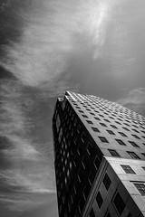 Architecture Monday (Nicholas Erwin) Tags: architecture urban city cityhallplaza highrise skyscraper building blackandwhite monochrome bw digital camera nikon d610 2018g downtown manchester newhampshire nh unitedstatesofamerica usa america fav10 fav25 fav50