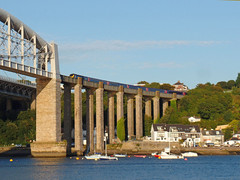 43079 Royal Albert Bridge (Marky7890) Tags: gwr 43079 class43 hst 1c86 royalalbertbridge railway saltash cornwall cornishmainline train