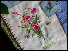 September resolutions: to finish all I have begun .... (Essential Resinescence) Tags: embroidery handmade broderie