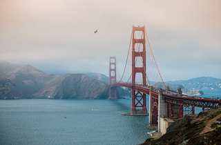 Golden Gate to Marin County