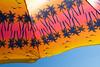 2016 apr - jun misc life 47 (Doctor Casino) Tags: orange pink palmtrees pattern beachumbrella jacobriispark