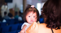 the girl being christened today (mspthephotographer) Tags: baby church christening