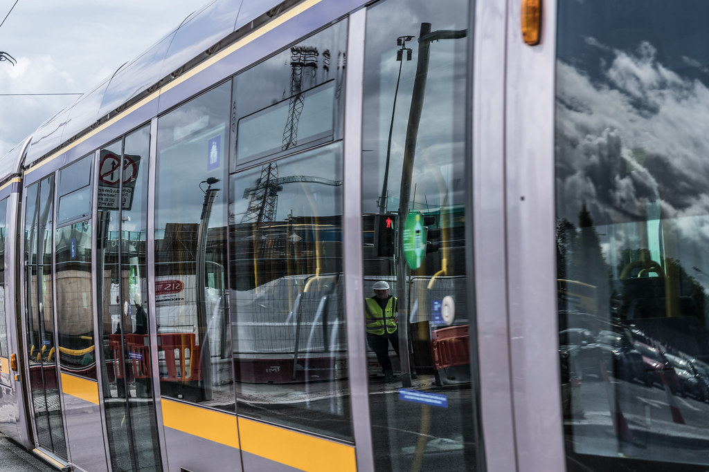 THE NEW LUAS TRAM STOP AT BROADSTONE [TESTING PHASE UNTIL EARLY DECEMBER]-1324708