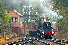7812 Erlestoke Manor (Roger Wasley) Tags: 7812 erlestokemanor gwr 7800 manor class svr severn valley railway trains worcestershire steam locomotive cambriancoastexpress inexplore