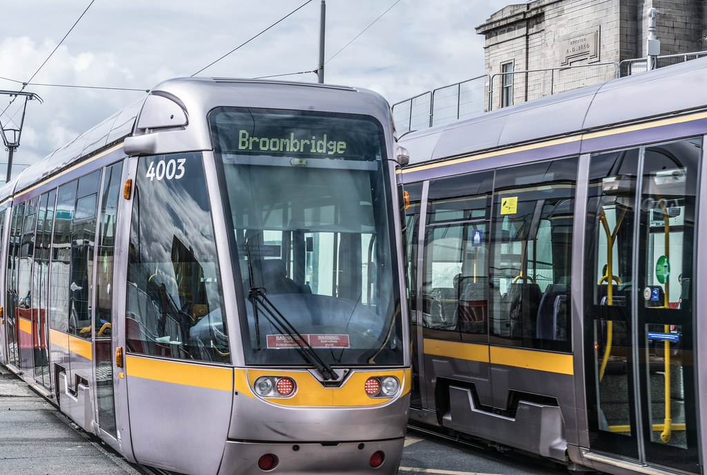 THE NEW LUAS TRAM STOP AT BROADSTONE [TESTING PHASE UNTIL EARLY DECEMBER]-1324710