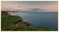 Sea view (jamiekennedy644) Tags: cliffs sea eastcoast flamborough northlanding calm tide sky clouds sunrise