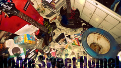 Home Sweat Home! (jivethunders) Tags: home sweat dirt punk bathroom guitar wohnen ikea