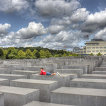 Berlin - Memorial to the Murdered Jews of Europe thumbnail