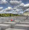 Berlin - Memorial to the Murdered Jews of Europe (HDRforEver) Tags: hdr canon 600d berlin germany deutschland memorial murdered jews europe mahnmal gedenkstätte clouds wolken sky himmel bluesky august summer city art new interesting architektur architecture