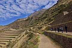 A lovely day for a hike :) (somabiswas) Tags: saariysqualitypictures pisac incan ruins peru hiking