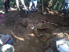Exhumación de la Canalona-Pravia (Asturias)