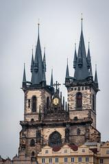 (j.c peaguda) Tags: praga iglesiadetyn prague praha republicacheca travel relojastronomico europe summer