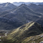 View from Carn Mor Dearg Arete thumbnail