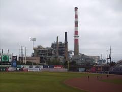 Bridgeport 13 (MFHarris) Tags: bridgeport bluefish harboryard connecticut atlanticleague ballpark baseball stadium