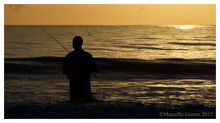 Sunrise Fishing Action