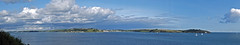 Fal Estuary Panorama 2 (Cornishcarolin. Thank you for over 2 Million Views) Tags: cornwall falmouth pendennispoint yachts stmawes panorama water sky clouds stanthonyhead stanthonylighthouse fragglerock