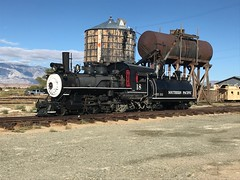 """Sunny day for SP #18 (GRNDMND) Tags: california laws """"southernpacific"""" tenwheeler 460 steam museum """"narrowgauge"""" railroads trains"""