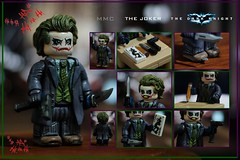 THE JOKER (MMC Customs) Tags: legocustom joker legojoker minifigures dc thedarkknight heathledger nolan whysoserious hahaha