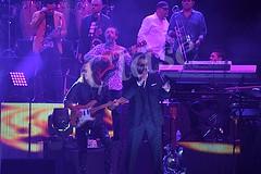 Emanuel y Mijares, amistoso concierto