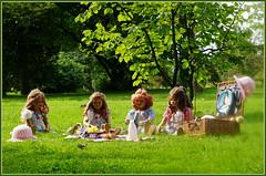 Den Tag genießen ... (Kindergartenkinder) Tags: grugapark essen gruga nrw kindergartenkinder annette himstedt dolls sanrike garten annemoni milina tivi
