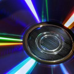 CD on LP (clarkcg photography) Tags: digital cd analog lp vinyl groves reflection evolution macromondays
