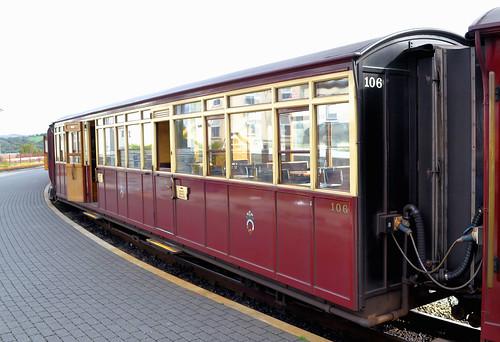 Festiniog Railway Carriage 106