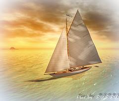 Trudeau Sailing Blake Sea (2) (Poppys_Second_Life) Tags: 2l popi popisadventuresin2l popikone popikonesadventuresin2l poppy sl sailing secondlife trudeau virtualphotography picsbyⓟⓞⓟⓟⓨ yacht trudeauny30 newyork30