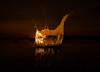 Magma (petrisalonen) Tags: finland sunset landscape water splash yellow summer night photoshop digital drops waterdrops canon lake saimaa flickr explore flickrexplore