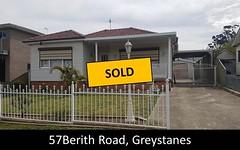 57 Berith Road, Greystanes NSW