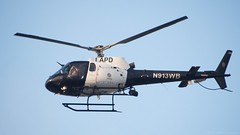 LAPD Helecopter N913WB - Nikon D750 - AFS Nikkor 28-300mm 1:3.5-5.6G VR (divewizard) Tags: nikond750 nikon d750 dslr fx afsnikkor28300mm13556g afs nikkor 28300mm 13556g vr f3556 zoomlens zoom lens 28300mmf3556gvr chrisgrossman culvercity losangelescounty california lapd helecopter n913wb lapdhelecopter losangelespolicedepartment culvercitypolicedepartment ccpd airbus eurocopter as350b2 helicopter aircraft policehelecopter