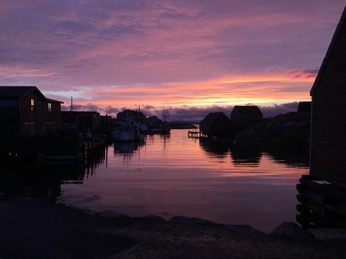 Peggys Cove sunset