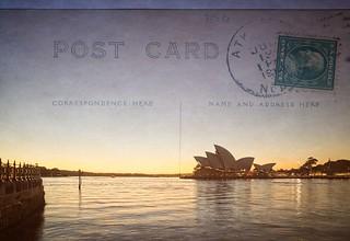 Da Opera House-Post Card
