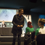 Julian Clary meets the audience
